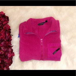 PATAGONIA Vintage Full Zip Pink Jacket